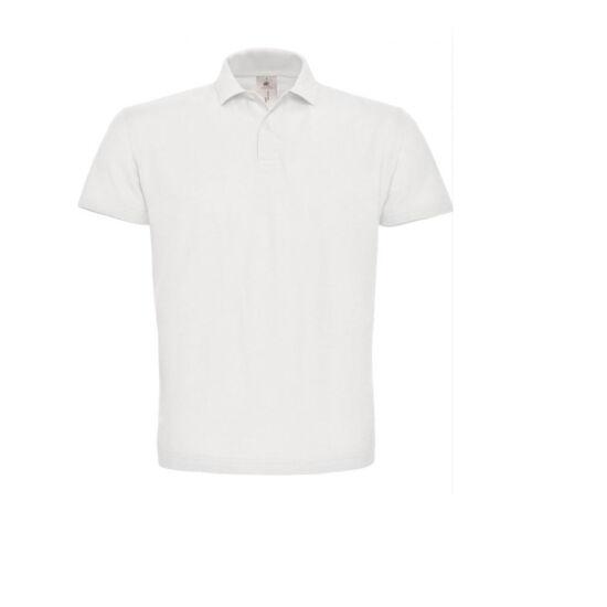 Galléros póló fehér
