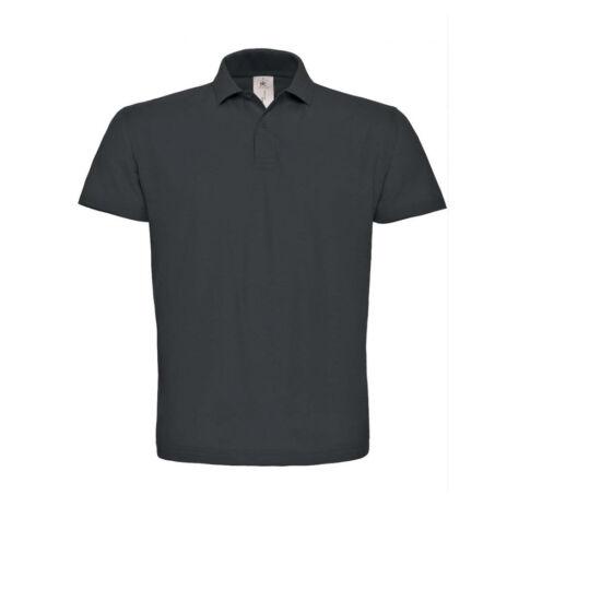 Galléros póló fekete