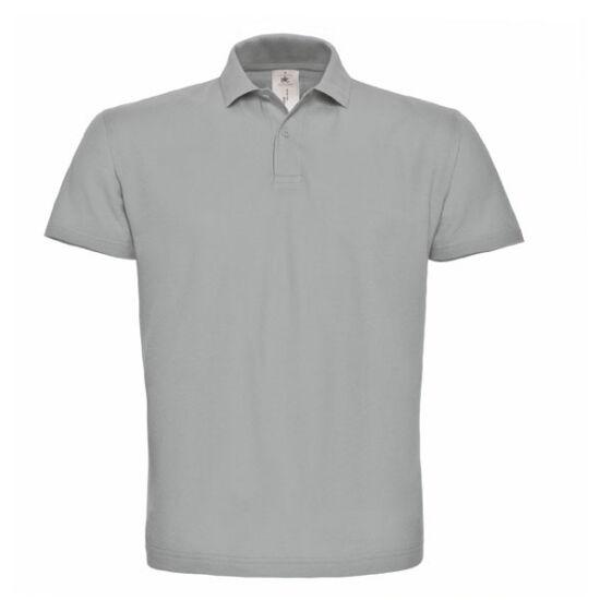 Galléros póló szürke