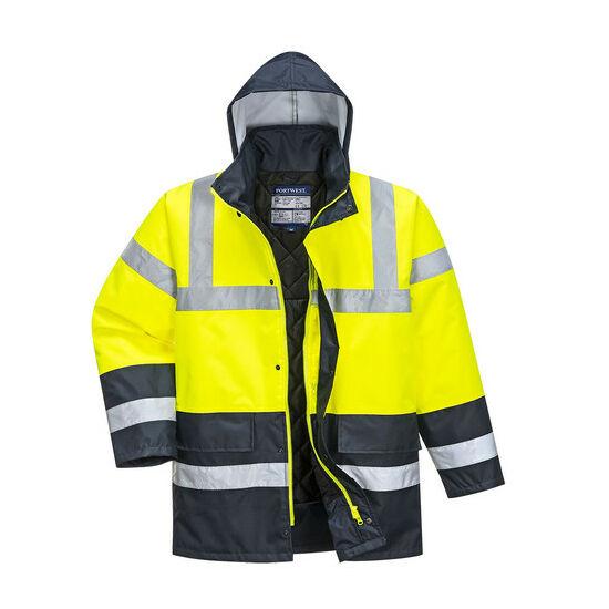 Portwest S466 Kontraszt Traffic fényvisszaverő kabát